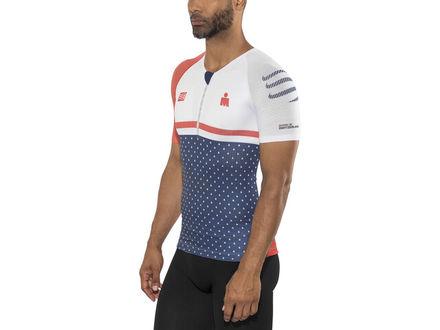 Compressport TR3 Aero Top Ironman 2017 Men, blue